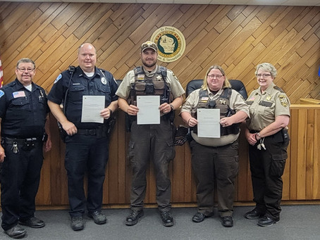 Burnett County Law Enforcement Honored with Life Saving Awards