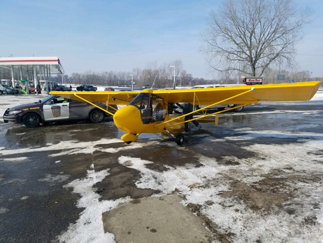 Experimental Plane Makes Emergency Landing in Chisago County
