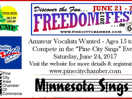 Pine City Sings Sends Two to Statewide Competition - 6-26 News
