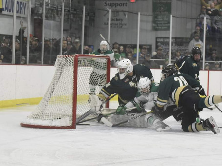 Sell's Hat Trick Lifts Dragons to Section Championship