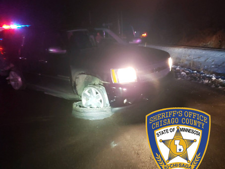 Gas Drive Off in North Branch turns into 100 MPH Car Chase