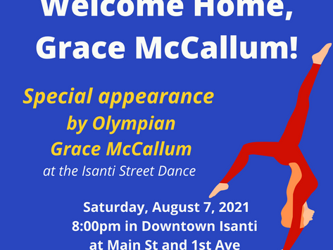 Isanti to Welcome Home McCallum From Tokyo Olympics