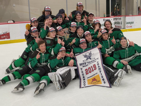Dragons Crowned Herb Brooks Invitational Champions