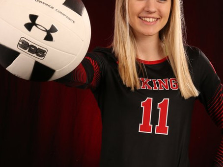 Cianna Selbitschka Volleyball Player of the Year