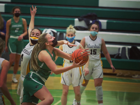 Pine City Girls Remain Unbeaten in Conference Play