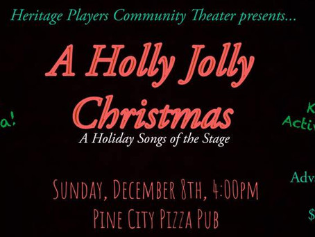 PC Heritage Players to Perform Christmas Favorites