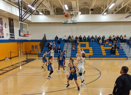 Dragon Girls Basketball 12-1 at Halfway Point