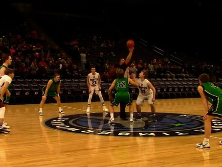 Dragons Win Over Two Harbors at the Target Center