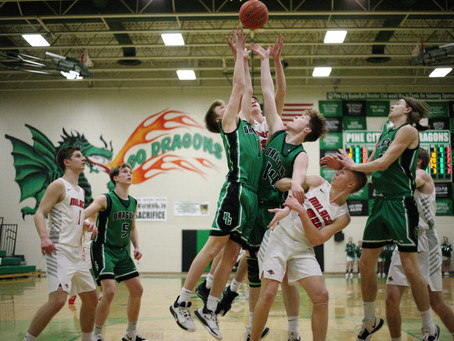 Dragons Battle Wolves in Playoff Victory