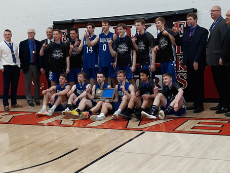 Henry Abraham Scores 41 Points as Bluejackets Win the Section Championship
