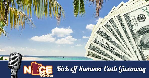 Kick Off Summer Cash Giveaway - KBEK (1)