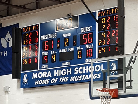 Mustangs Grab Conference Win Over Pierz in Overtime