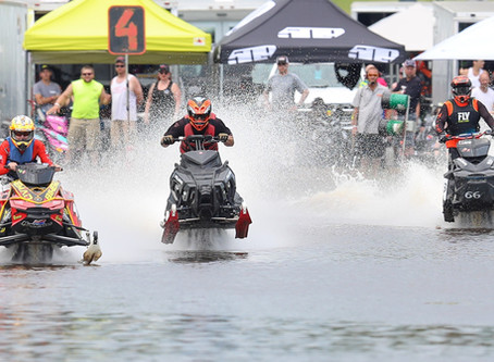 Grantsburg Championship Snowmobile Watercross Cancelled