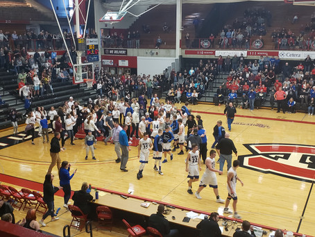 Mora Upsets Annandale on Lucas Athey Buzzer Beater