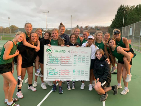 Pine City Tennis Headed to Section Finals
