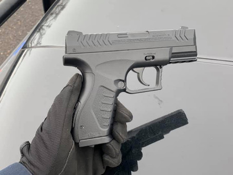 Pellet Gun Recovered in Chisago Co. Road Rage Incident
