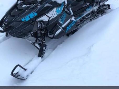Snowmobiles Stolen near Milaca