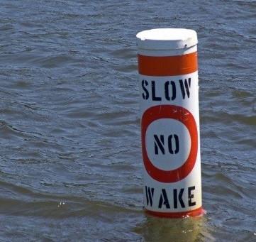 No Wake Zone in Effect on Sturgeon Lake