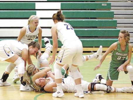 Pine City Girls Split Games at Granite City Classic