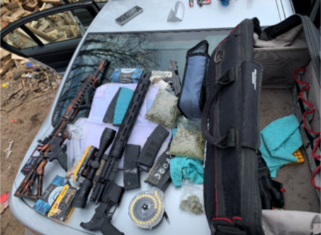 Gun Cache Found Following Brook Park Arrest