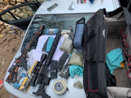 Gun Cache Found Following Brook Park Arrest