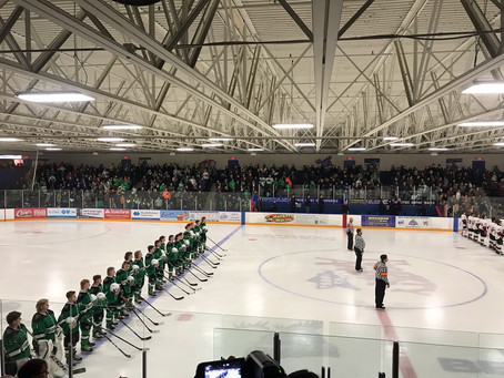 Dragons Take Moose to the Wire in Section Championship Game