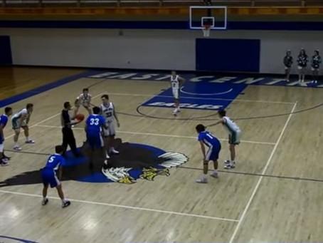 Pine City Boys Basketball Edges out East Central