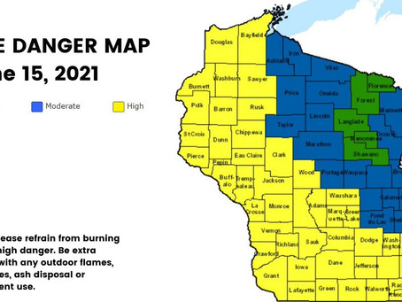 """Wisconsin Experiences a """"Fire Season that Doesn't End"""""""