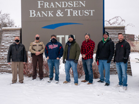 Frandsen Bank & Trust Donate Drone to Pine Co. Sheriff's Office