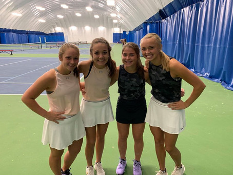 Dragon Tennis Ready to Start the Year