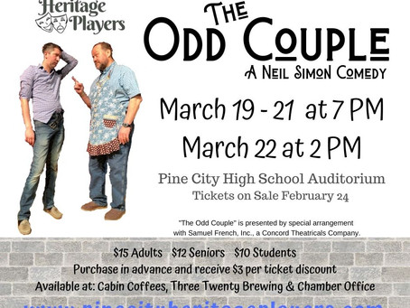 Tickets for The Odd Couple On Sale