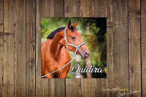 Individuelle Sticker fürs Pferd - quadratisch