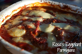 Rosa's Eggplant Parmigiano Recipe