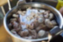 Boiling the Sausage, Fwereh Lebanese Sausage Recipe