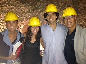 Leila, Anthony, and the Moranos Exploring old Cisterns, Italy