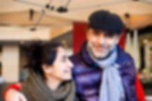 Reema Mansour and Husband Reda Maamari, Souk El Tayeb, Beirut, Lebanon