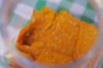 Biolicious: Organic Raw Vegetable Crackers: Carrot Wild Thyme Flower, Souk El Tayeb, Beirut, Lebanon