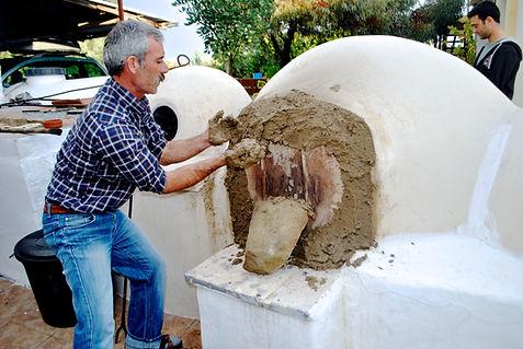 Mud over the Clay Oven Door, Cyprus