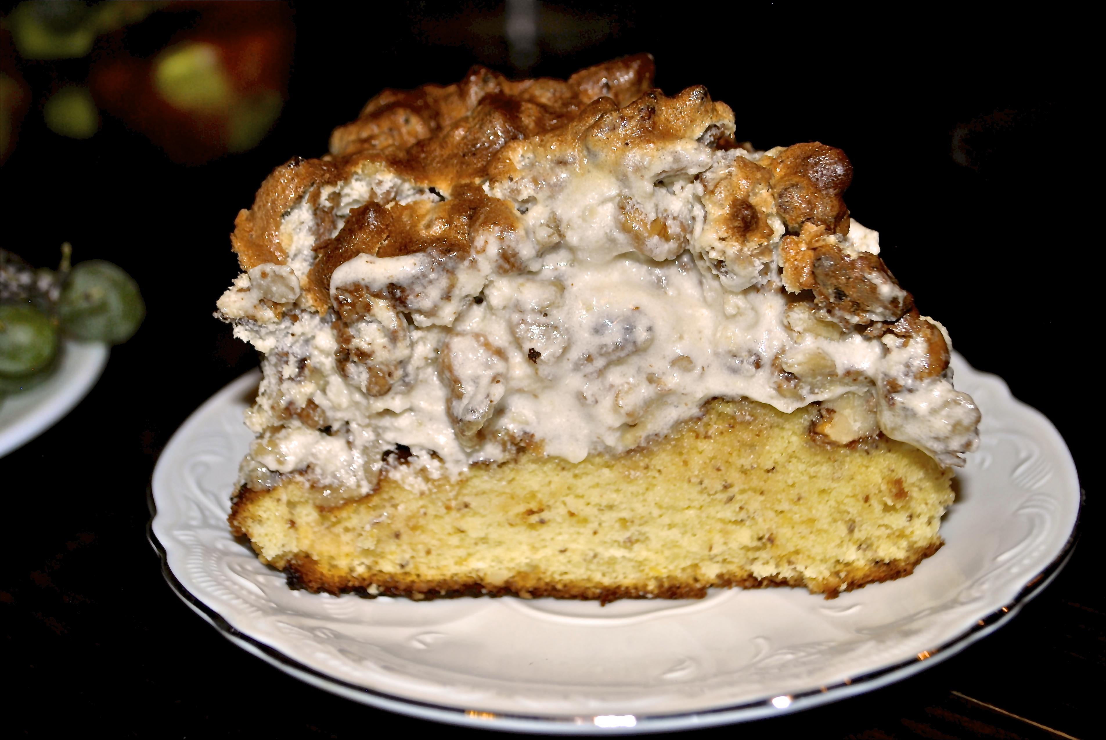 Matea's Walnut Meringue Cake