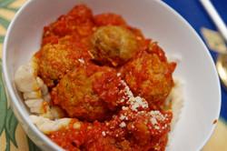 Simona's Italian Meatballs in Sauce