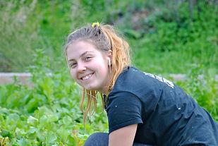 Noémie Gagnon working on GROL Garden, Cyprus