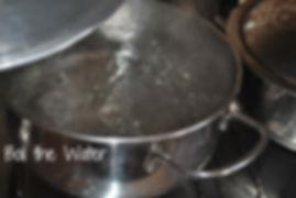 Boiling Water - Marietta's Calabrese Braciole di Melanzane Recipe Photos