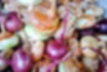 Organic Croatian Onions, Peka Recipe, Croatian Traditional Recipes