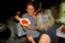 Leila Tasting the Ajvar, Ajvar Recipe, Imotski, Croatia