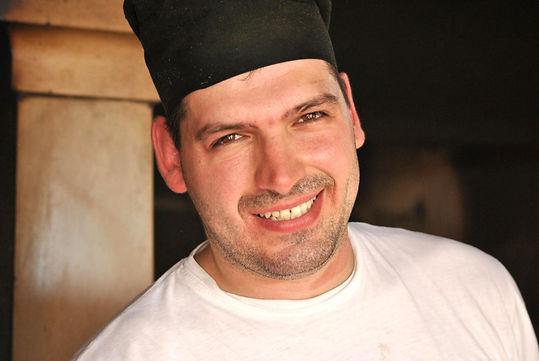 Chef Ivan from Konoba Kopačina, on the Island of Brač off the coast of Croatia