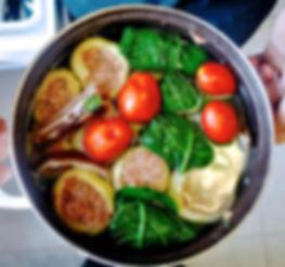 Punjene Paprike (Stuffed Peppers) & Sarma (Stuffed Collard Greens) Recipe, Croatia
