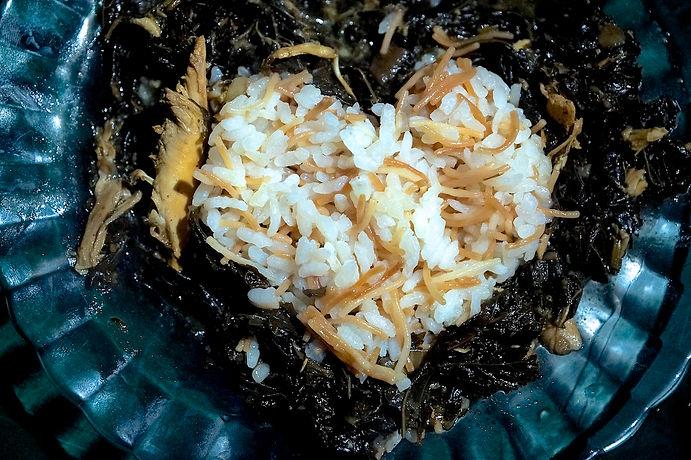 molokhia and rice, molokhia recipe, lebanese recipes