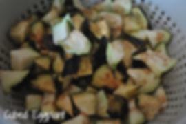 Cubed Eggplant - Marietta's Calabrese Braciole di Melanzane Recipe Photos