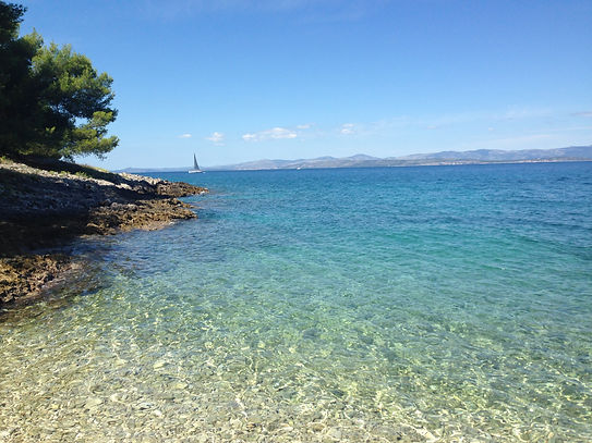 Beaches of Brač, Croatia