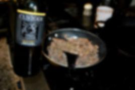 Adding White Wine to the Liver- Porchetta Ripiena aka Stuffed Pork Recipe